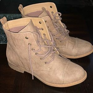 Just fab lace up boot